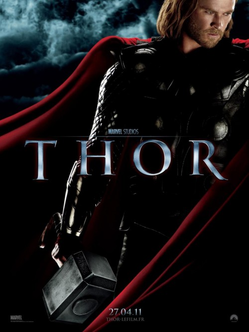 Thor French movie poster