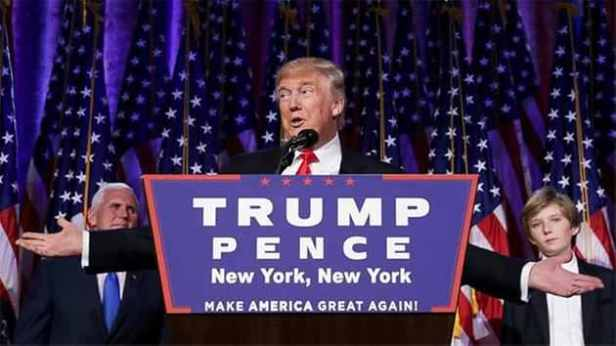 President-elect Donald Trump is the next President of the United States